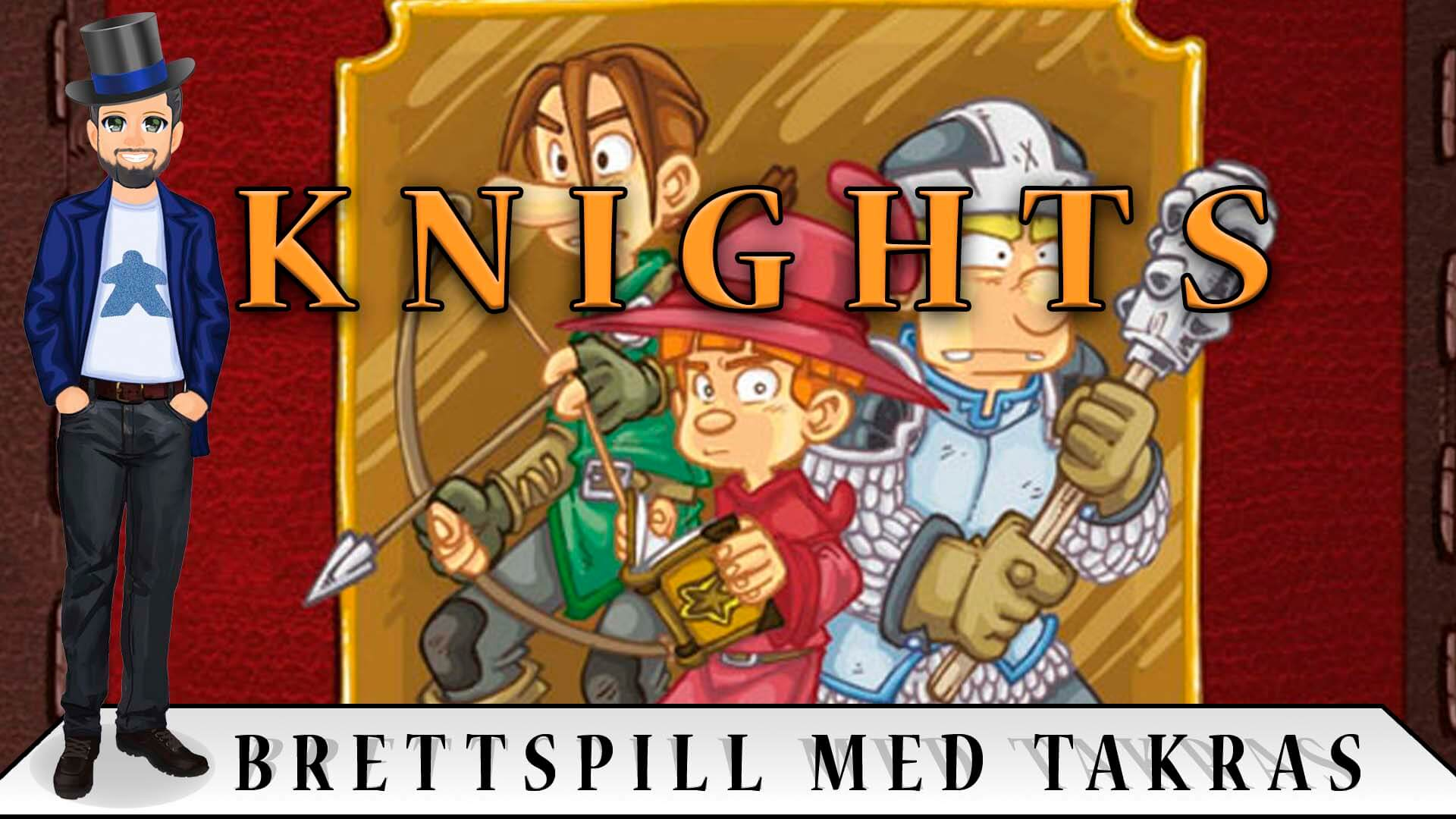 Brettspill med Takras: Knights
