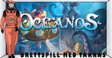 Brettspill med Takras: Oceanos