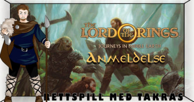 Brettspill med Takras: Journes in Middle-earth