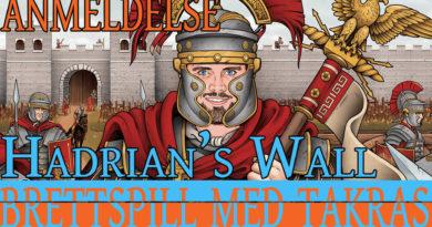 Hadrian's Wall forside